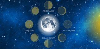 Kako lunine mene vplivajo na vaše telo in počutje?