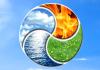 Vpliv elementov. Elementi Ogenj, zemlja, voda in zrak določajo vaše tipične lastnosti.