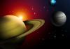 Globina Saturna seže v višjo zavest.