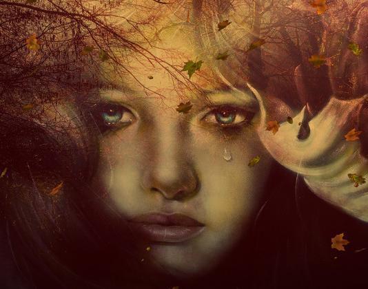 Razočarana in osamljena