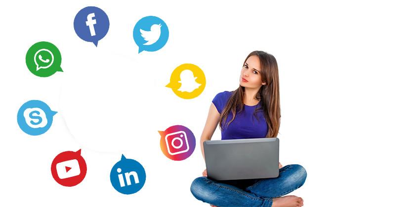 Kraljice družabnih omrežij so...