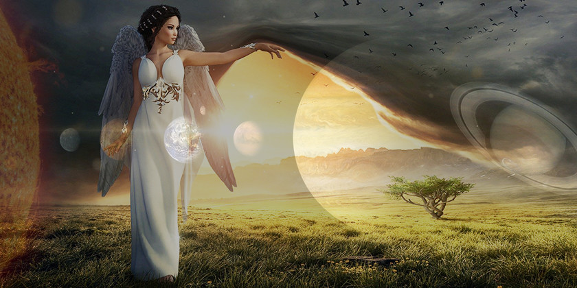 Vas zanima kateri nadangeli so povezani s Soncem, Marsom in Saturnom?