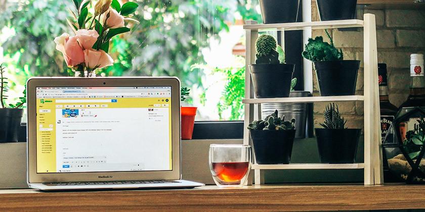 Delo od doma je lahko tudi zelo učinkovito