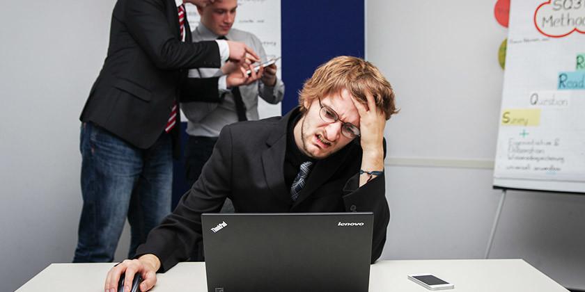 Glavobol, posledica duševnega stresa ali utrujenosti