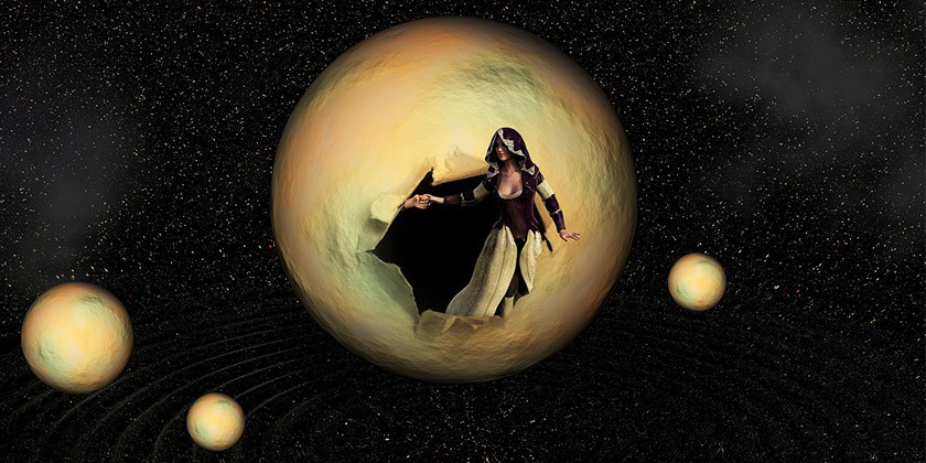 Lilit, temna plat lune