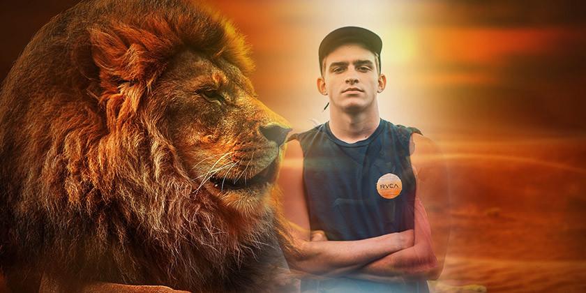 Moški lev: pogumen, prefinjen in samozavesten