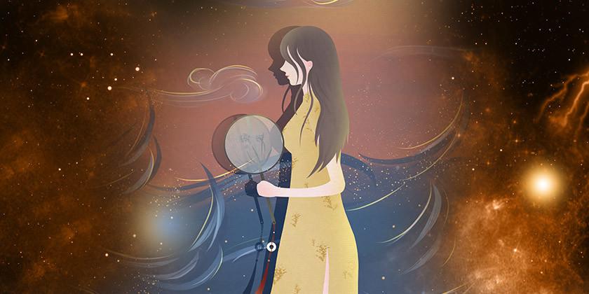 Devica, najbolj marljivo in osredotočeno znamenje zodiaka Ozvezdje device izvira iz babilonske družbe, kjer je bila povezana z boginjo Shalo. Babiloncem je ta boginja vladala nad plodnostjo in letino.