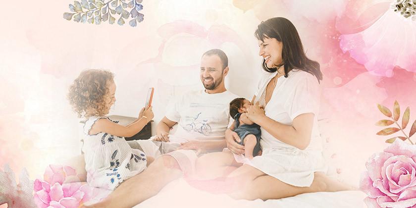 Preverite, ali spadate glede na astrološko znamenje med ženske, ki obožujejo otroke in veliko družino