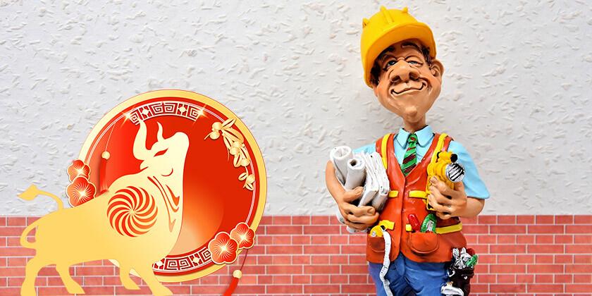 Znamenje bivol, zanesljivo in marljivo kitajsko znamenje