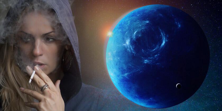 Astrološka simbolika planeta Neptun in povezava z zasvojenostjo