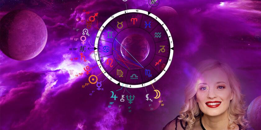 Astro profil znanih: Ajda Smrekar prijazna in samozavestna igralka